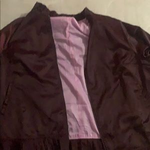 22/24 satin Lane Bryant Bomber jacket.